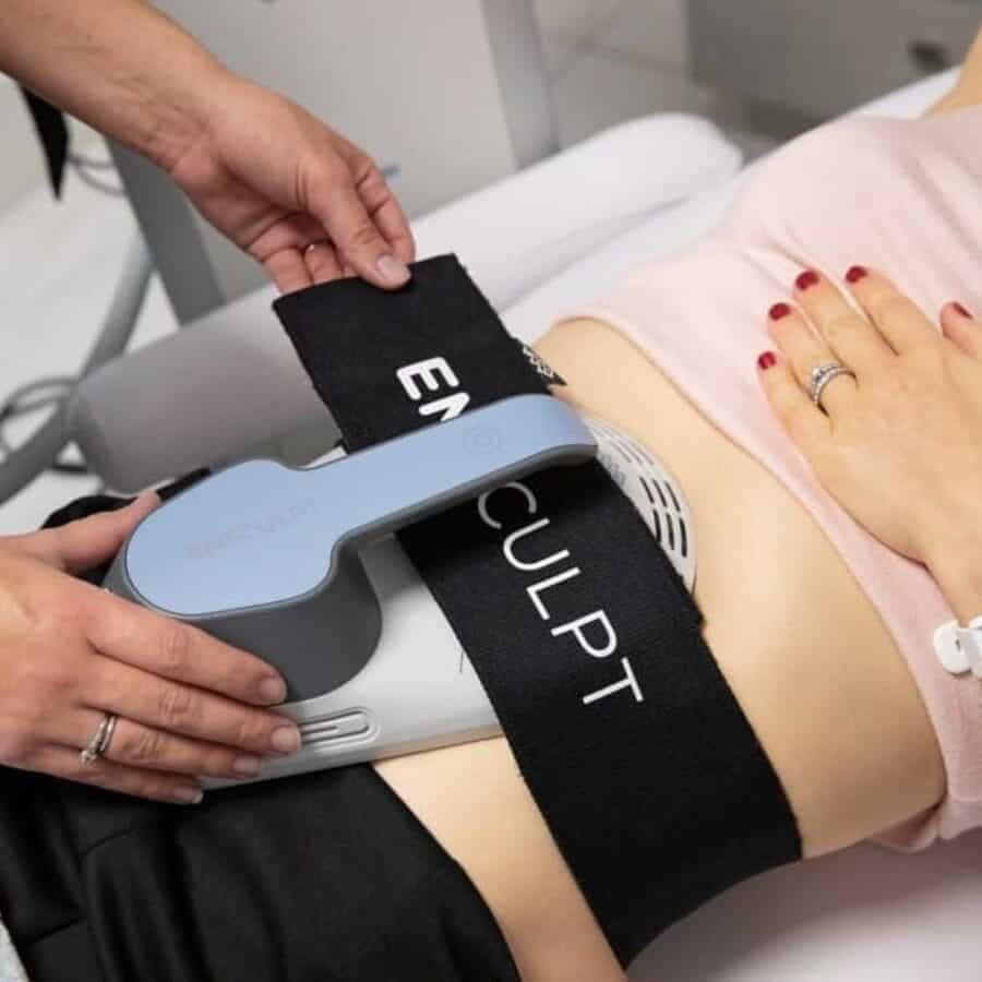 Electromagnetic Body Sculpting
